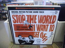 Stop the World I Want To Get Off! Soundtrack LP EX Warner Bros Records Stereo