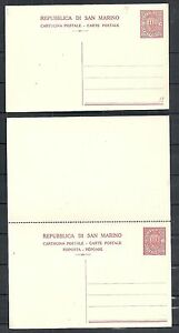 San Marino covers CLASSIC 30c PC + DoubleCard not sent