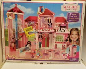Barbie-Malibu-Avenue-House-2013-Mattel-Rare