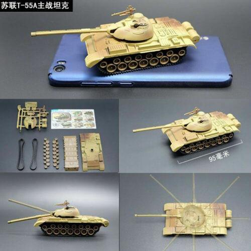 4D 8 Stück 1//72 Montieren Tank 4d Tank Plastik Modellbau Set die Erste Schuss