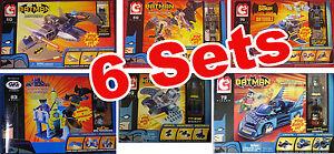 6x BATMAN LEGO C3, C3 Batmobile, C3 Batwing, C3 Batcycle, C3 Batcave, C3 GIGI - Gratkorn, Österreich - 6x BATMAN LEGO C3, C3 Batmobile, C3 Batwing, C3 Batcycle, C3 Batcave, C3 GIGI - Gratkorn, Österreich