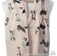 Ladies-BORDER-COLLIE-SHEEPDOG-cotton-mix-Scarf-Sarong-Sheep-dog-lover-gift thumbnail 3