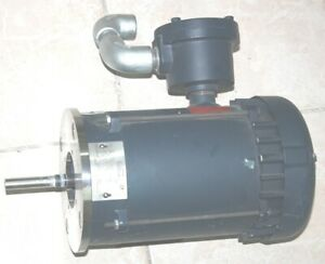 LEESON-FVK-A6T34XK3C-P-Electric-Motor-1-3-4HP-3PH-3450-2850-RPM-BY432260