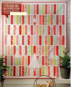 White Christmas Quilt Pattern Pieced Applique Bg Ebay