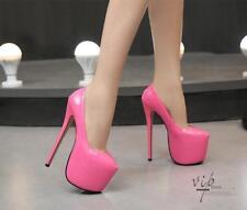 5b8b3a7c3b1 item 5 Sexy 18cm Women s Stilettos Round Toe Platform Pumps High Heels  Clubwear Shoes -Sexy 18cm Women s Stilettos Round Toe Platform Pumps High  Heels ...