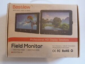 """NEW*  BSY708-M 7"""" LED Camera Field Video Monitor with Built-in Speaker"""