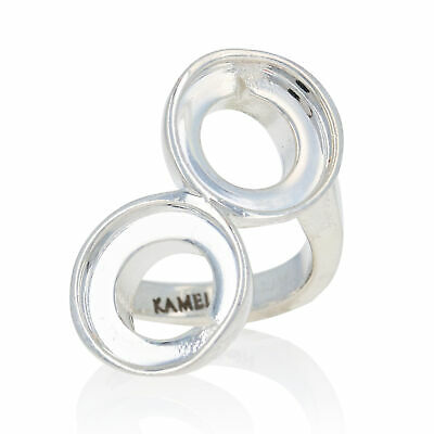 Kameleon Ring KR45 Double Trouble Sterling Silver in Gift Box Sale Price $39.00