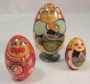 Avoir Un Esprit De Recherche Vintage Colorée Poupée Russe-afficher Le Titre D'origine