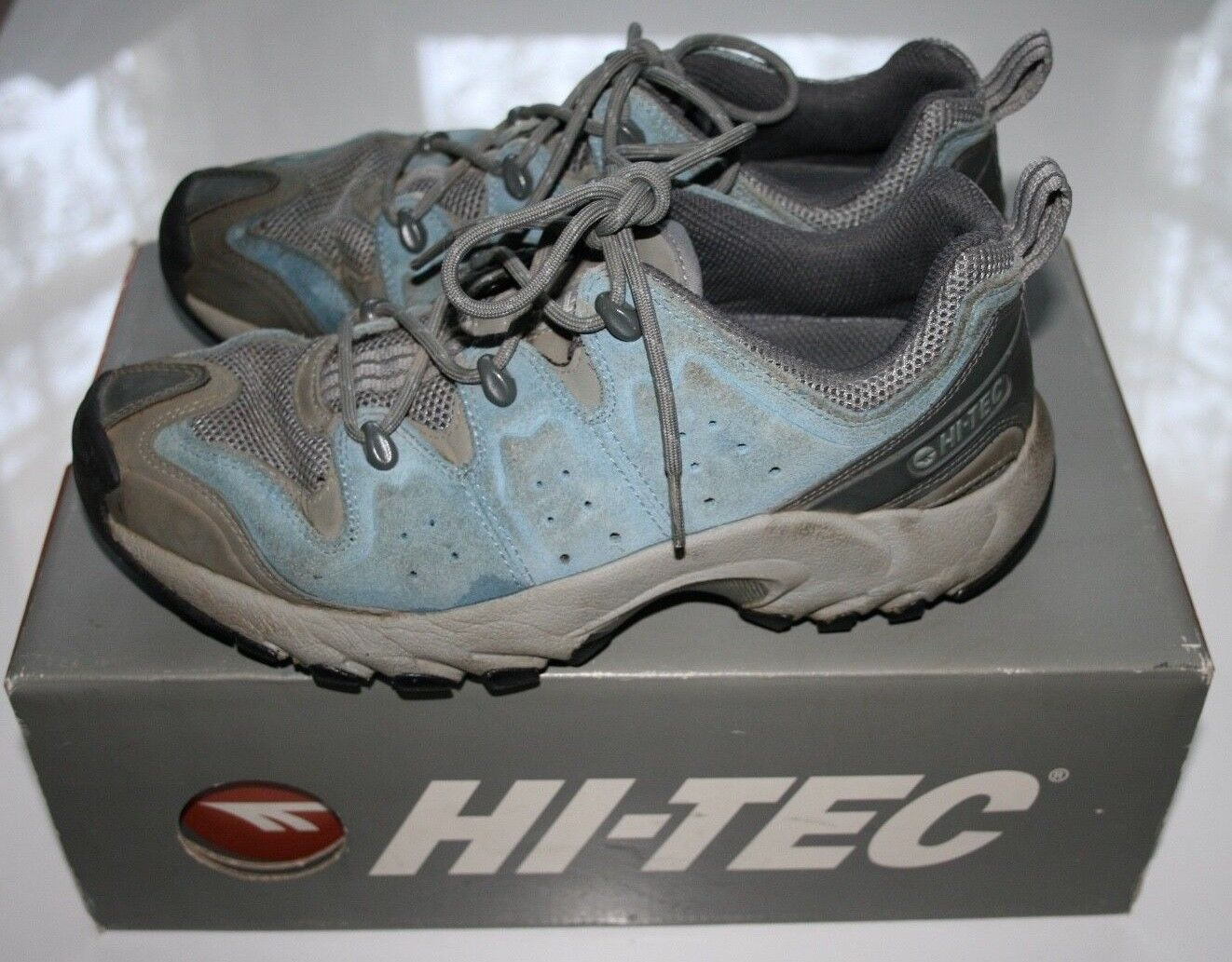 HI-TEC OUTDOOR Aspire Suede Womens Adventure Sport UK7 EU40 Hiking Walking shoes