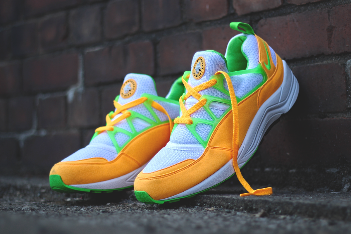 Nike Air Huarache Light Atomic Mango Shoe Trainers8 EUR 42.5