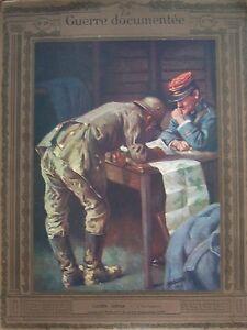 WW1-Photos-Lithographs-Fouqueray-Jonas-La-Guerre-Documented-1914-1918-No-No-29