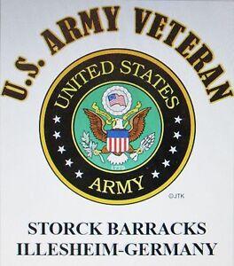 STORCK-BARRACKS-ILLESHEIM-GERMANY-U-S-ARMY-VETERAN-W-ARMY-EMBLEM-SHIRT