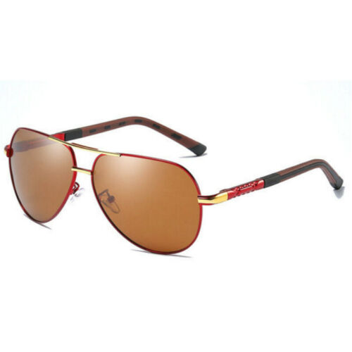 Aluminium Mens Polarized Photochromic Driving Sunglasses Chameleon Sport Eyewear