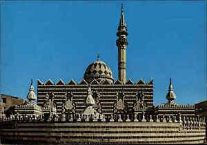 AMMAN-JORDANIEN-Postkarte-JORDAN-Postcard-Mosque-Mosquee-Moschee-Al-Ashrafieh
