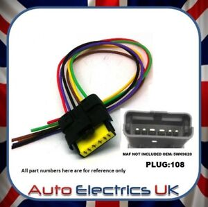 Tremendous For Ford Peugeot Citroen Maf Air Mass Sensor Connector Wiring Wiring Database Obenzyuccorg