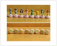 Card Captor Sakura Set of 8 pcs Figure Seal Stamps Free Shipping New Rare