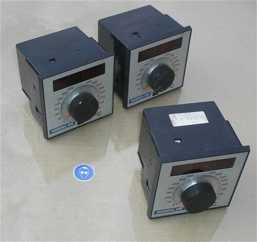 SdfkPlakette Regler Temperaturregler 220V Volt AC für NiCr-Ni Wiebel TQD 290 A