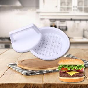 hamburgerpress form fleisch rindfleisch burger maker grill k chen zubeh r ebay. Black Bedroom Furniture Sets. Home Design Ideas