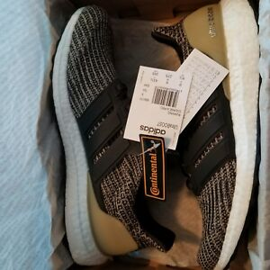 4dd9c344a Adidas Ultra Boost 4.0 Dark Mocha Khaki Raw Gold Size 9.5