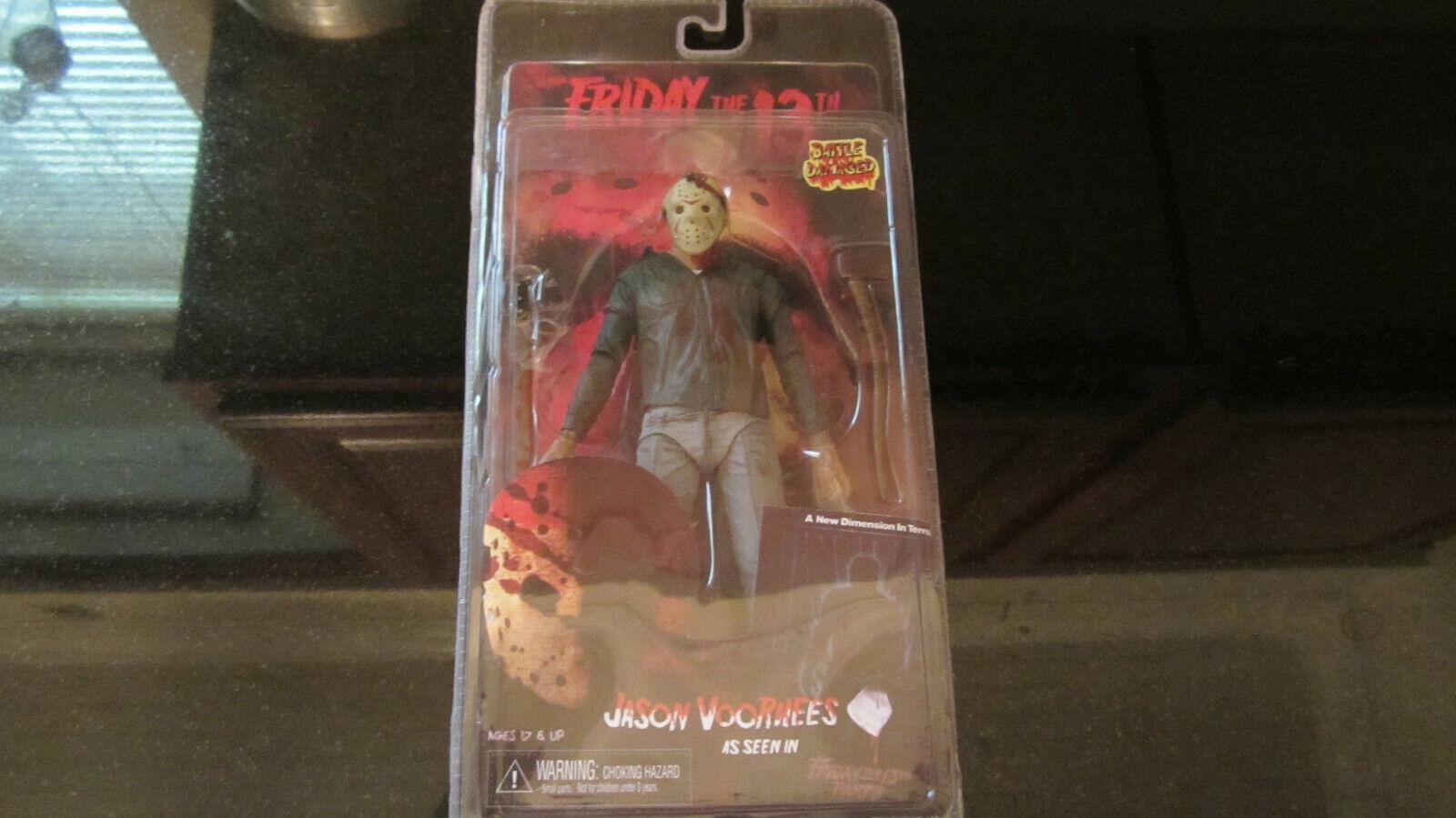NECA - Friday the 13th -  Action Figure - Part 3 Jason (Battle Damaged)