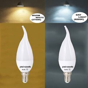 E14 b22 e27 led frosted bent tip candle light bulbs 35w flame image is loading e14 b22 e27 led frosted bent tip candle aloadofball Gallery