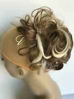 Synthetic Elastic Curly Hair Piece Chignon Drawstring Clip In Scrunchies Bun