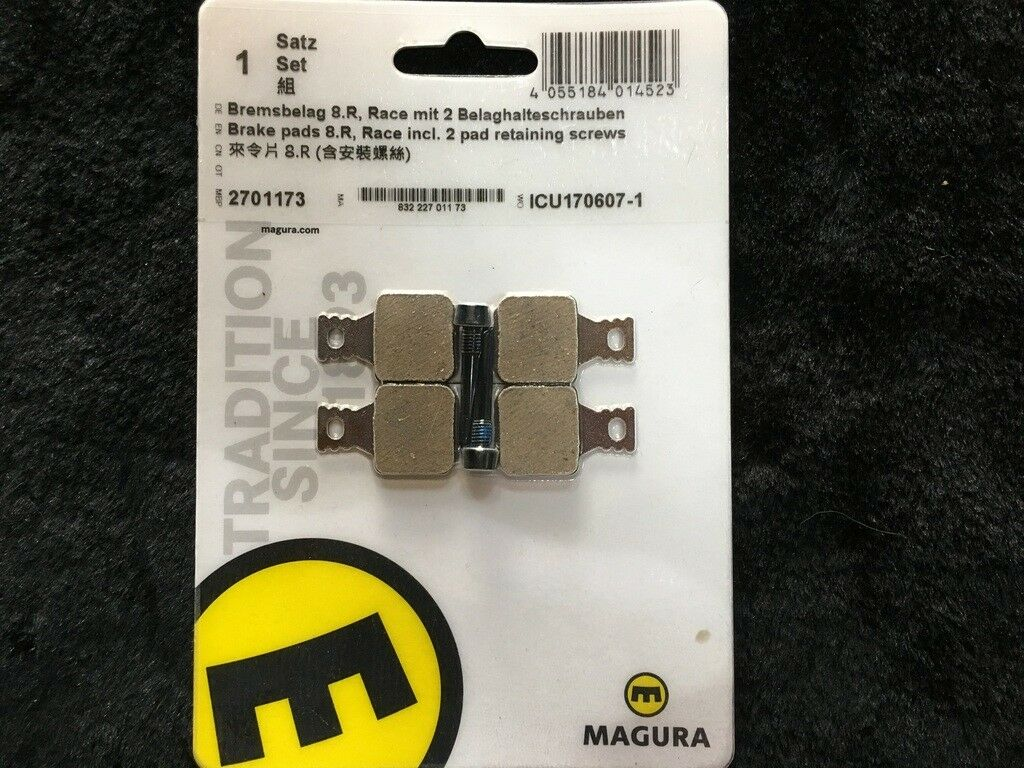 MAGURA  8.R RACE COMPOUND DISC BICYCLE BRAKE PADS  for cheap