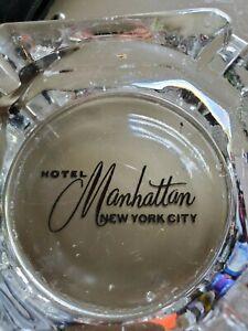 Hotel Manhattan New York City Vintage Ashtray