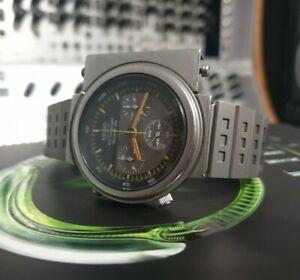 Seiko-Original-7A28-7000-039-Ripley-Alien-039-Giugiaro-Watch-Speedmaster-Chronograph