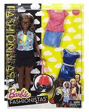"Barbie DTF02 Fashionistas EMOJI divertidos Muñeca"""""