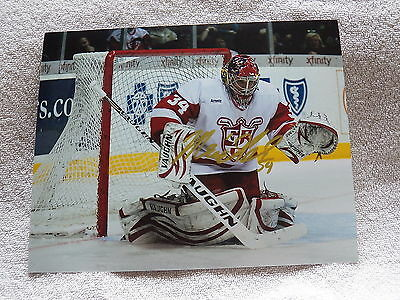 Detroit Red Wings Petr Mrazek Signed Grand Rapids Griffins 8x10 Photo Auto
