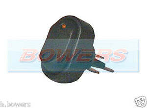12v-Volt-ambar-Iluminado-Led-Mini-Oval-interruptor-de-encendido-apagado-de-alquiler-de-van-Tablero
