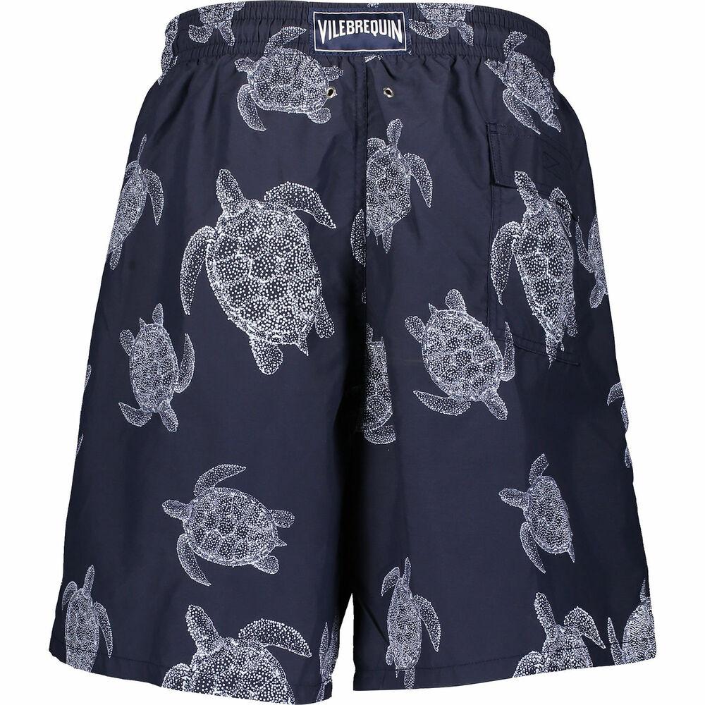 DéVoué Vilebrequin Moon Vilebrequin Tortue Bleu Marine Shorts De Bain Xxxxx Large 5xl Neuf New Brillant