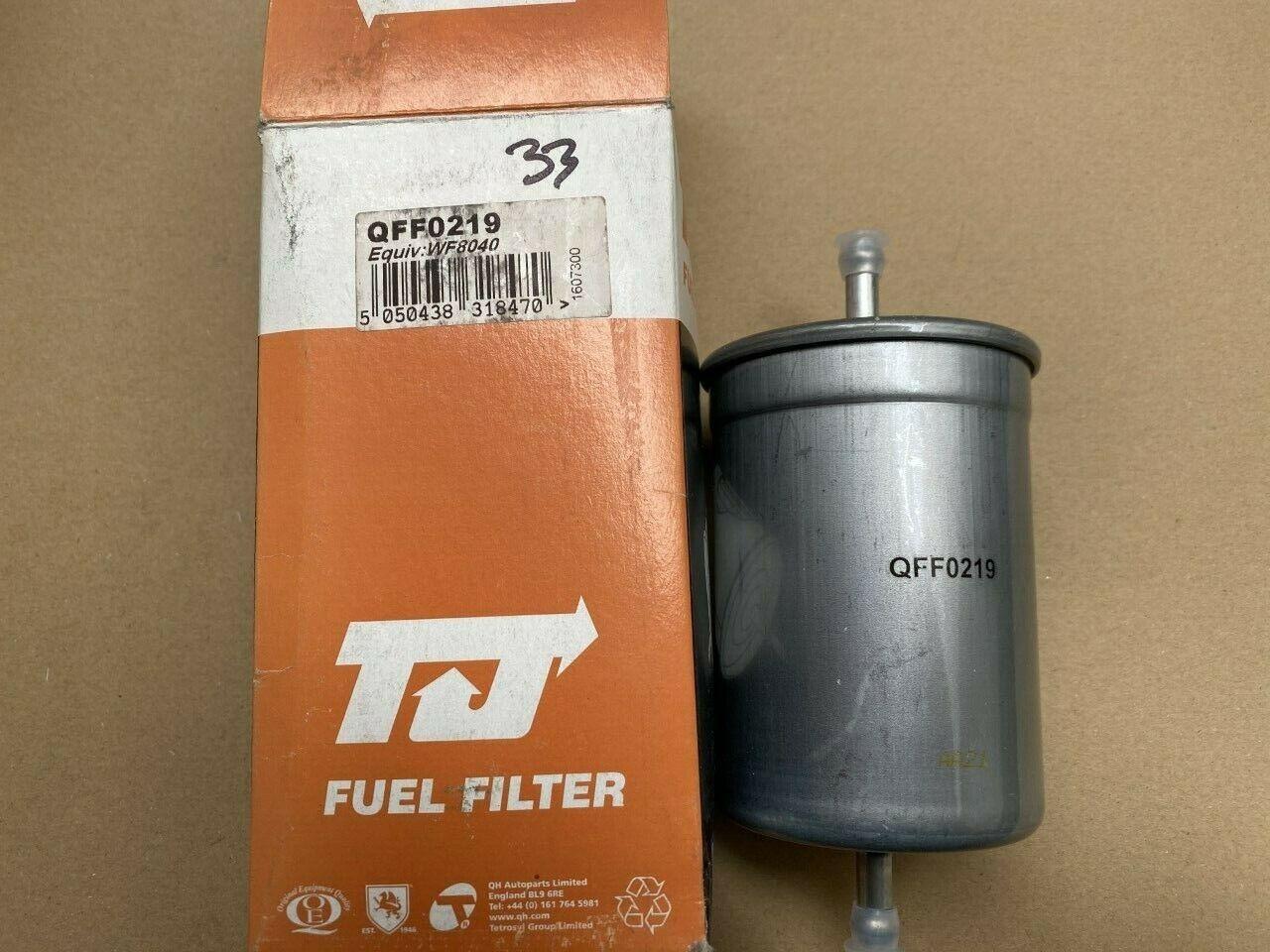 TJ Filters QFF0219 Fuel Filter