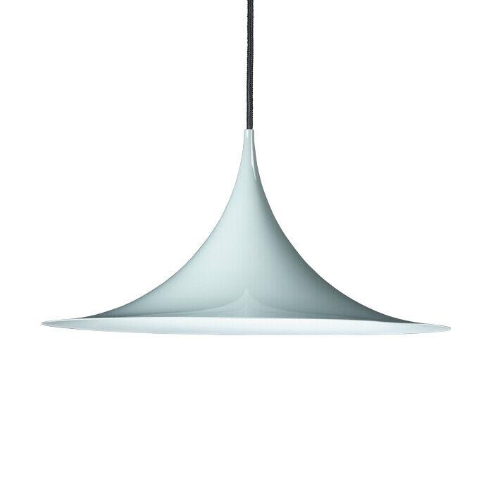 GUBI lampada a sospensione SEMI Ø47 cm in metallo verniciato o metalizzato
