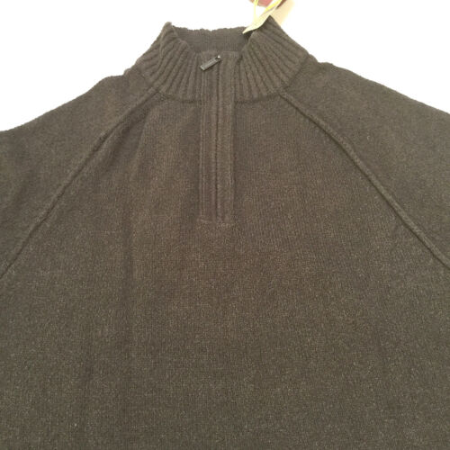 Taglia Pullover Tommy Zip Blend 39794243447 Cotton Brown media Bahama Mockneck Boucle Mens H1wqz68HS
