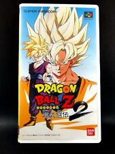 Dragon Ball Z Super Butouden 2 Promotion VHS Video Tape Japan SFC Mega Rare!!