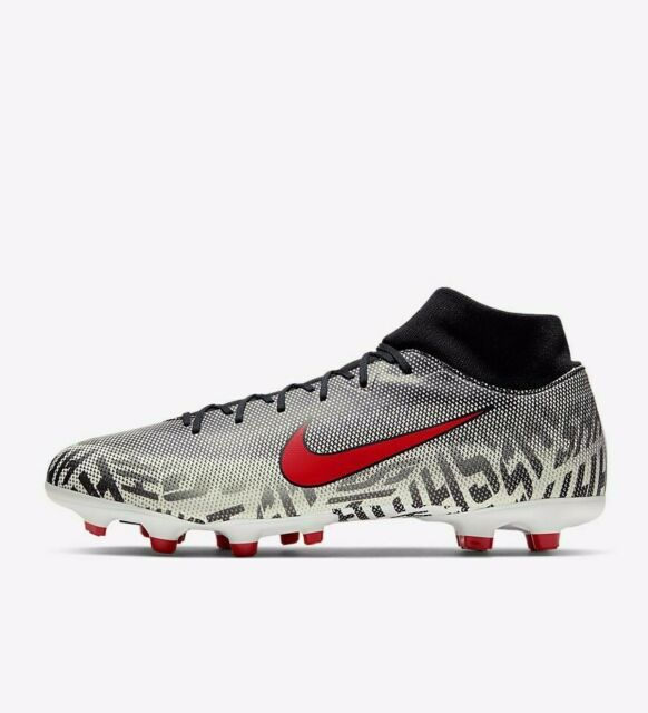 Nike Superfly 6 Academy NJR FG/MG AO9466-170 White Red Black Men's Soccer  Cleats