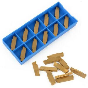 10-pcs-Carbide-Inserts-3mm-Width-MGMN300-M-for-MGEHR-MGIVR-Grooving-Cut-Off-Tool