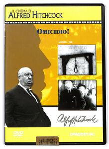 EBOND Il cinema di  alfred hitchcock - omicidio! DVD  EDITORIALE D576548