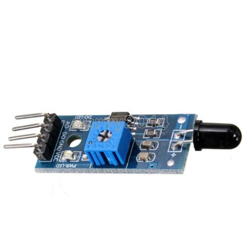 5PCS sensor de detección de llama 4PIN receptor Infrarrojo Ir Módulo De Control