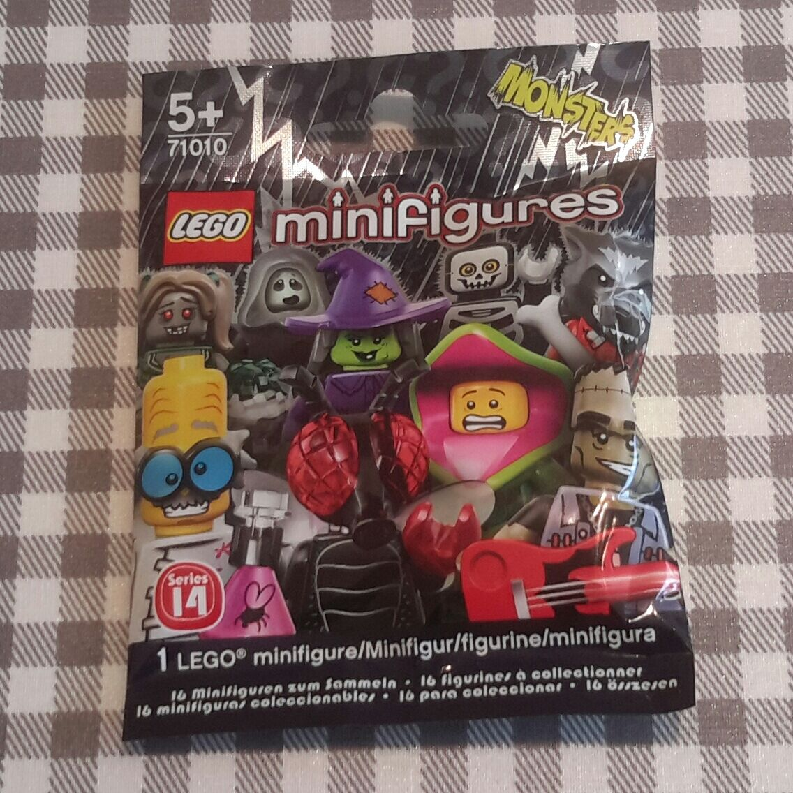 Lego minifigures series 14 (71010) complete unopened set x 16 16 16 new factory sealed bcdc2f