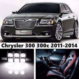 13pcs-LED-Xenon-Whit-Light-Interior-Package-Kit-for-Chrysler-300-300c-2011-2014