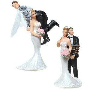 Brautpaar Hochzeitspaar Geschnappt Tortenaufsatz Hochzeit