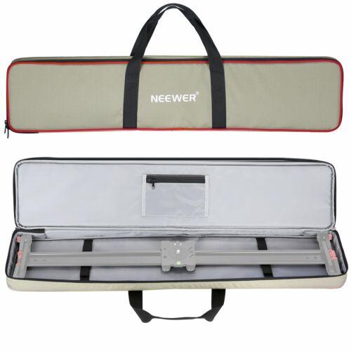 Luz Verde Impermeable 600D Elater para Slider Dolly Cámara de video Bolsa de transporte