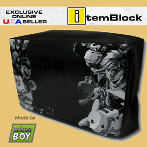 Nintendo-Switch-Smash-Bros-Ultimate-Dock-Dust-Cover-Exclusive-eBay-US-Seller