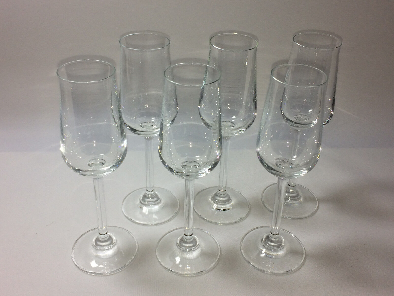(A2) 6 x Bohemia Romy Portweinglas Sherrykelch Madeira Kelch Glas Schnapsglas | Günstige