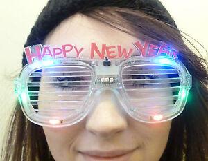 Romantisch Die Verwahrung Der Vielfarbe FÜhrte Neuheit Gutes Neues Jahr Brille Kostüme & Verkleidungen Kleidung & Accessoires fl13