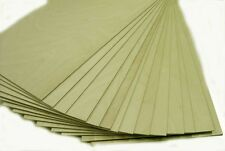 "BALTIC BIRCH PLYWOOD 1/8"" (3mm) BY APPROX 12"" X 24"" - 20 PIECES"