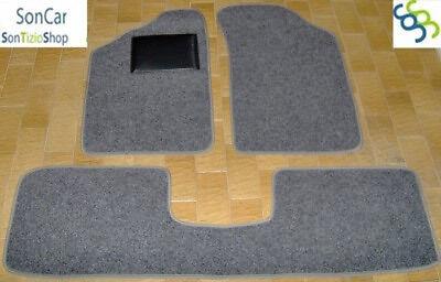 4 block RENAULT CLIO TAPPETI tappetini AUTO su MISURA